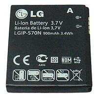 Оригинальный аккумулятор для мобильного телефона LG BL20, BL20v, GD310, GM310, KV600, KV800, Shine II GD710 (LGIP-570N)