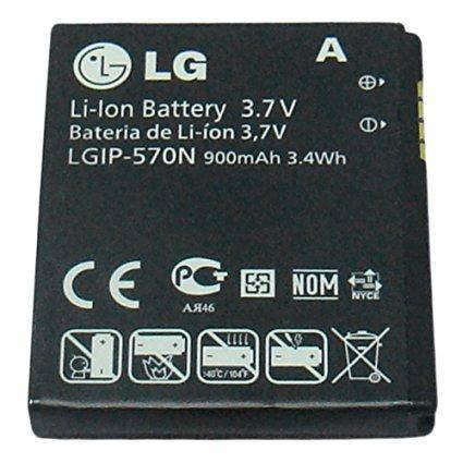 Оригинальный аккумулятор для мобильного телефона LG BL20, BL20v, GD310, GM310, KV600, KV800, Shine II GD710 (LGIP-570N), фото 2