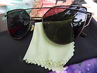 Солнцезащитные очки  Dior Monster, цвет линз и оправы черный