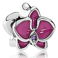 Подвеска-шарм «Орхидея» Pandora, 792074EN69