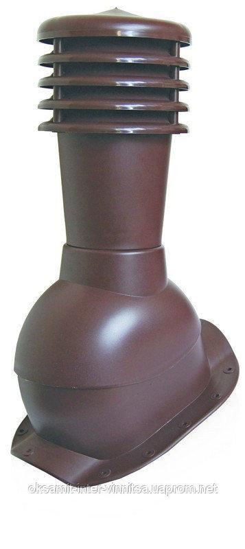 Вент выход с колпаком Kronoplast KBW для металлочерепицы высокий профиль волна до 30 мм. - Оксамит Винница в Виннице
