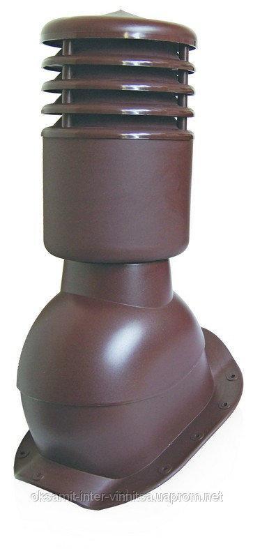 Вентвыход утепленный с колпаком Kronoplast KBWO для металлочерепицы высокий профиль волна до 30 мм. - Оксамит Винница в Виннице
