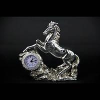 Статуэтка конь настольные часы PL0407U-7