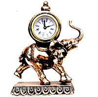 Часы каминные фигурка слон 76-ES546