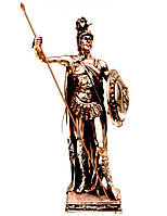 Статуэтка воина Древнегреческого с копьем T106-1