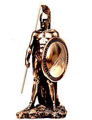 Статуэтка воина спартанца со щитом T1012