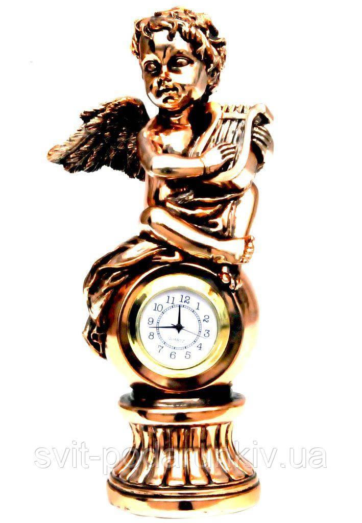 Настольные часы статуэтка ангела T1329