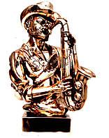 Статуэтка саксофониста джазового музыканта T1612