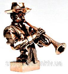 Статуэтка трубача негра музыканта T1614