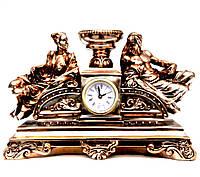Часы каминные подсвечник Мужчина и девушка TS1413