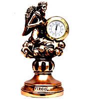 Статуэтка настольные часы знак зодиака Дева T1134