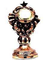 Статуэтка настольные часы знак зодиака Рак T1136