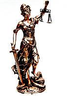 Статуэтка Фемида богиня правосудия с весами T482