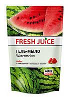 Гель-мыло с глицерином Fresh Juice Watermelon (арбуз) дой-пак - 460 мл.