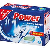 Таблетки для посудомоечных машин Power Geschirr Reiniger Tabs /60 tabs