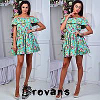 Женское очень красивое летнее мини платье