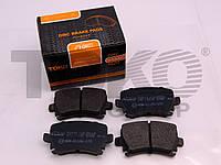 Колодки тормозные дисковые на AUDI TT, A3, A6, A4