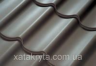 Металлочерепица Прушински Шафир 350, 400, РЕ, толщина 0.45мм