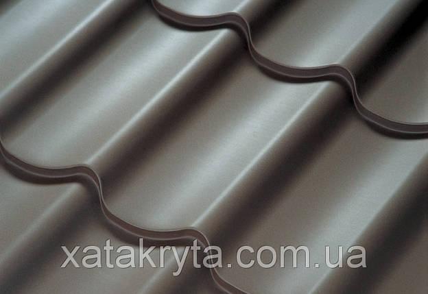 Металлочерепица Прушински Шафир 350, 400, РЕ, толщина 0.45мм, фото 2