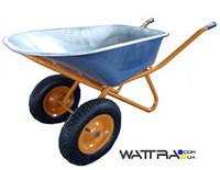 Тачка строительная Forte WB6418-1S (вода/песок 110/200 л, 320 кг, вес 17 кг) б/п доставка