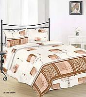 Постельное белье бязь Руно 30-0390 Brown