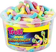 Жевательный мармелад Trolli Черви в сахаре, 1200 грамм