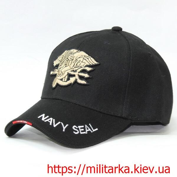 Кепка милитари Navy Seal черная