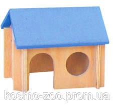 Деревянный домик для хомяка Лори 014