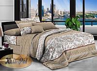 Двуспальный комплект постельного белья евро 200*220 хлопок  (6912) TM KRISPOL Украина