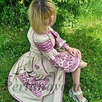 Платье с вышивкой 1110