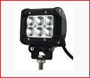 Двухрядная светодиодная LED фара дальнего света - 18W