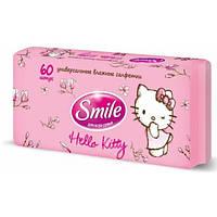 Универсальные влажные салфетки  Hello Kitty 60 шт