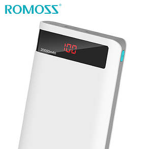 Внешний аккумулятор Romoss Sense 6P 20000mAh дисплеем, фото 2