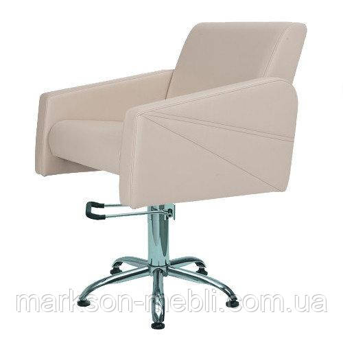 Кресло парикмахера на пневмоподъемнике JULIETA