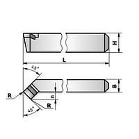 Резец проходной отогнутый 0025 (20х12х125) Т5К10
