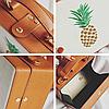 Модная каркасная сумка с ананасом, фото 5
