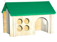 Деревянный домик для крысы Лори 011