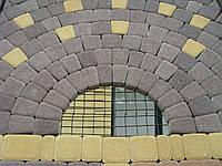 ТМ Brukland Римский камень  60мм желтый, терракот