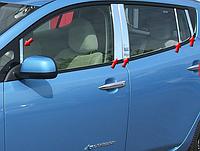 Хром накладки Nissan Leaf 2011-2017 10 позиций