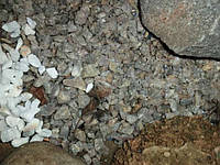 Мраморная крошка кварцит микс  10-20