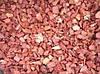 Мраморная крошка кварцит красная  10-20