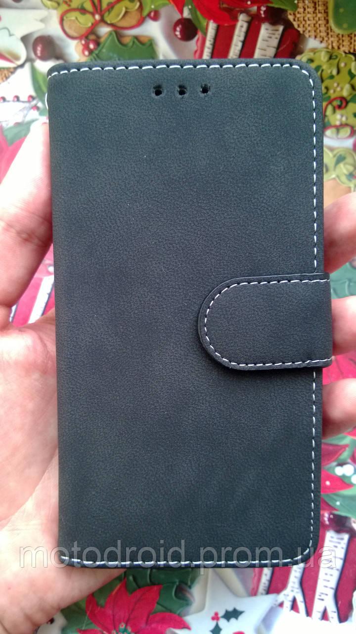 Чохол для Motorola Moto G 3Gen замшева книжечка