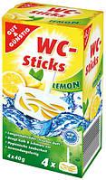 Гигиенический блок для унитаза G&G лимон 4 шт