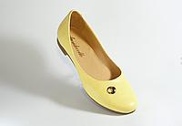 Стильные балетки. Открытые туфли. Натуральная кожа 1113