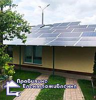 Мережева сонячна електростанція 30 кВт с. Малютянка  1
