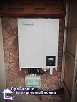 Мережева сонячна електростанція 30 кВт с. Малютянка  2