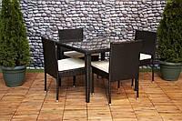 Комплект меблів FURNIDE: стіл + 4 крісла + ПОДАРУНОК!!!, фото 1