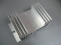 Радиатор охлаждения для реле серий SSR от 40А без вентилятора охлаждения Размеры: 125х71х50 мм