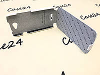 Кожаный чехол флип Melkco для HTC One S белый