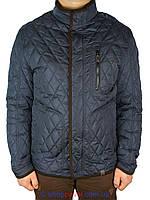Демисезонная мужская куртка Kings Wind 5T13#3 в темно-синем цвете